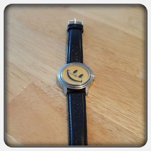 Woman's Smiley Face Watch